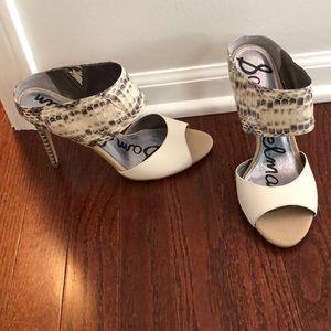Sam Edelman croc heels